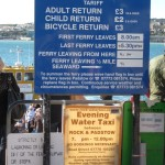 Ferry to Padstow